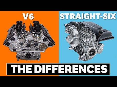 Here's The Differences Between A V6 And Straight-Six Engine