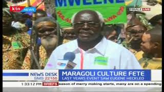 Musalia Mudadi and Moses Wetangula grace Maragoli culture festival