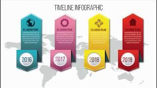 Illustrator Tutorial Colorful Infographic Design  Realistic Design