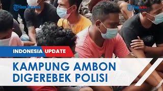 Ratusan Personel Polisi Bersenjata Lengkap Gerebek Kampung Ambon, 49 Warga Ditangkap soal Narkoba