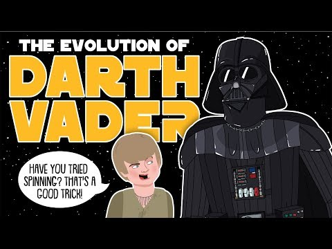 The Evolution Of Darth Vader (Animated)