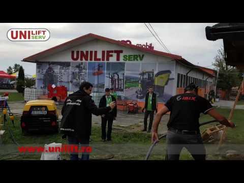 Demonstratie restaurare lemn si case din lemn - sablare cu IBIX