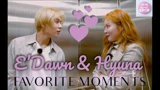 Hyuna & E'Dawn - Favorite Moments [ENG SUB]
