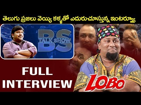 Anchor and Artist LOBO Interview | Full Interview | BS Talk Show | Top Telugu TV (видео)