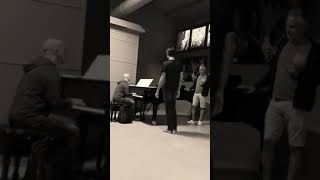 'Fall On Me' Test   Matteo And Andrea Bocelli