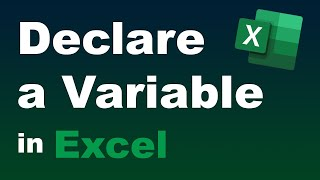 #8 - How to Declare a Variable in Excel VBA Programming (diff between global and local variables)