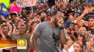 Flo Rida - Jump live on Today Show 08/14/09