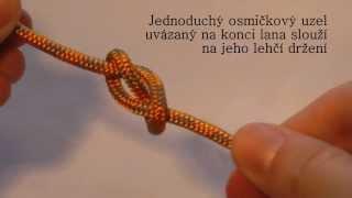 Osmičkový uzel  - www.skautnet.cz   www.skautnet.sk