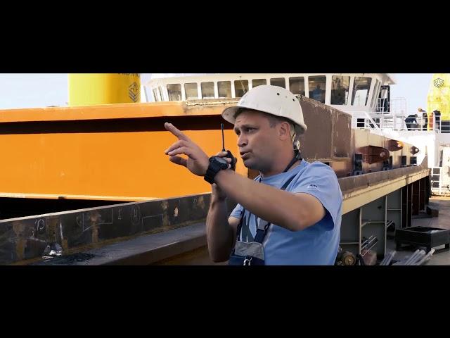 НІБУЛОН – Суднобудівний Дух сучасності: будівництво 140-метрового плавкрана NIBULON MAХ