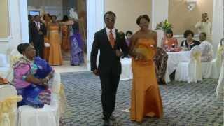 Bridal Party & Groomsmen Entrance Dance African Nigerian Wedding Videographer Photographer