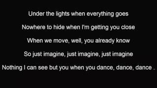 Justin Timberlake   Can't Stop the Feeling  Lyrics Video