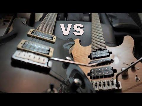 Harley Benton Fusion Pro ( Prototype ) vs ESP/ LTD MH327