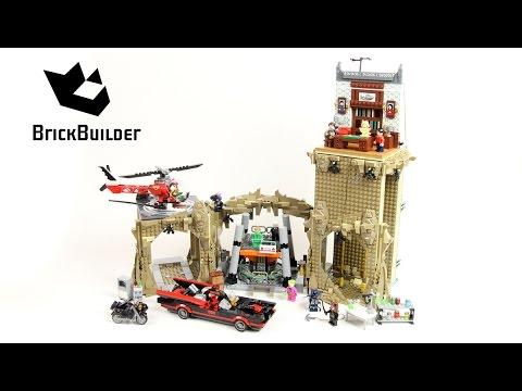 Vidéo LEGO DC Comics Super Heroes 76052 : Série TV classique Batman - La Batcave
