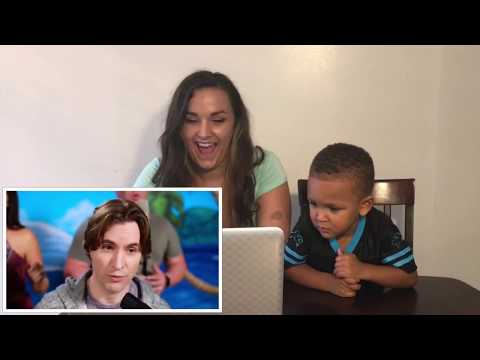 (Maria'&Nyemiah Reacts) MOANA MEDLEY VoicePlay Feat. Rachel Potter