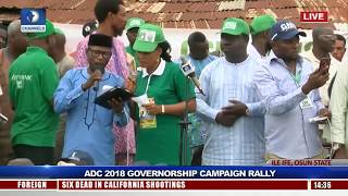 ADC Rallies Support For Akinbade Ahead Of Osun Guber Polls Pt.2 |Live Event|