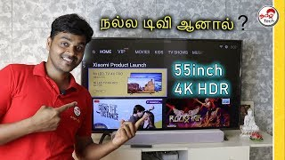 MiTv 4X Pro (55'inch) Smart TV Review after 1 Month - சிறந்த டிவி ? | Tamil Tech
