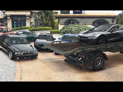 GTA 5 BMW Delivery - Michael's Collection (Real Car Mods)