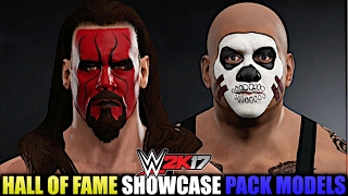 WWE 2K17 HoF DLC: All Models from Hall of Fame Showcase Pack in Superstar Studio!