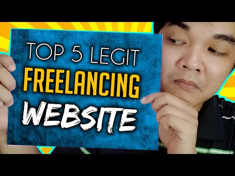 Top 5 Legit Freelancing Website Online Jobs At Home Philippines At Home For Beginners ( Tutorial )
