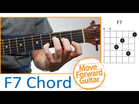 Guitar Chords for Beginners - F7