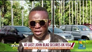 John Blaq To Board Plane For The First Time  Uncut Extra