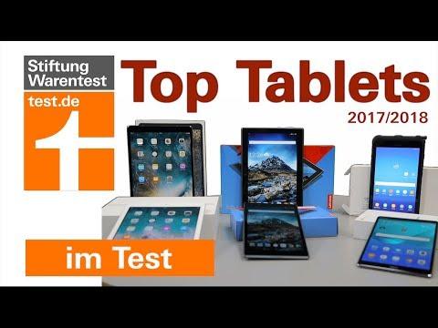 Test Tablets 2018: Das sind die besten Tablets (Tablet-Test Stiftung Warentest)