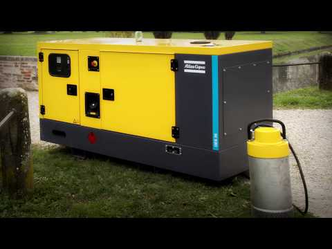 Get quick power to any electrical motor with diesel generators Atlas Copco - zdjęcie