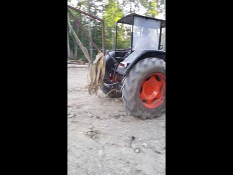 Zetor 5545 (60hp) Playing around the yard