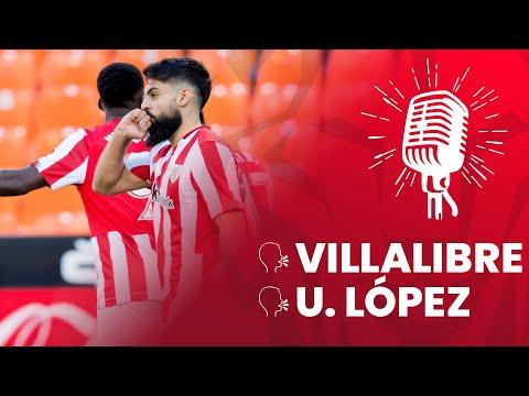 🎙 Asier Villalibre & Unai López | post Valencia CF 2-2 Athletic Club| J13 LaLiga 2020-21