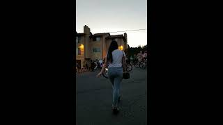2018 Portland Oregon naked bike ride! Start of the parade.