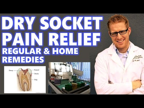Video Dry Socket Treatment: Home Remedies Relief Pain After Tooth Extraction Wisdom Teeth Symptoms My Why