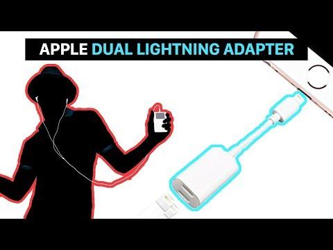 Apple Dual Lightning Adapter   iPhone laden und gleichzeitig Musik hören   Apple must have