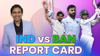 India vs Bangladesh Test Series: Report Card