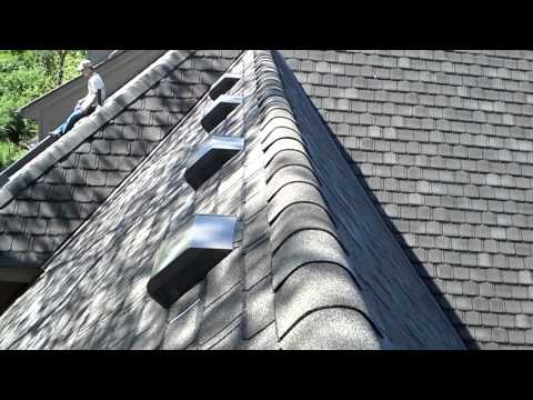 Post roof installation evaluation