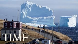 Tourists Are Flocking to Newfoundland To See This Iceberg   TIME