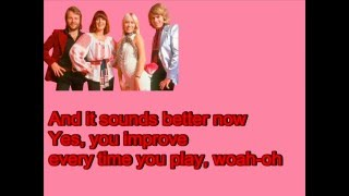 ABBA-Dum Dum Diddle (Lyrics)