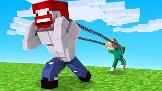 WIR TRAINIEREN MUSKELN in Minecraft