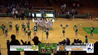 Tippecanoe Valley Boys Basketball vs Culver