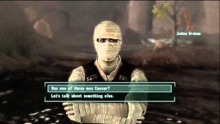 Fallout New Vegas Honest Hearts DLC Walkthrough Part 14: Heart-to-heart talk with Joshua Graham