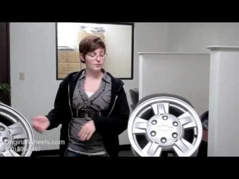 Venture Rims & Venture Wheels - Video of Chevrolet Factory, Original, OEM, stock new & used rim Shop