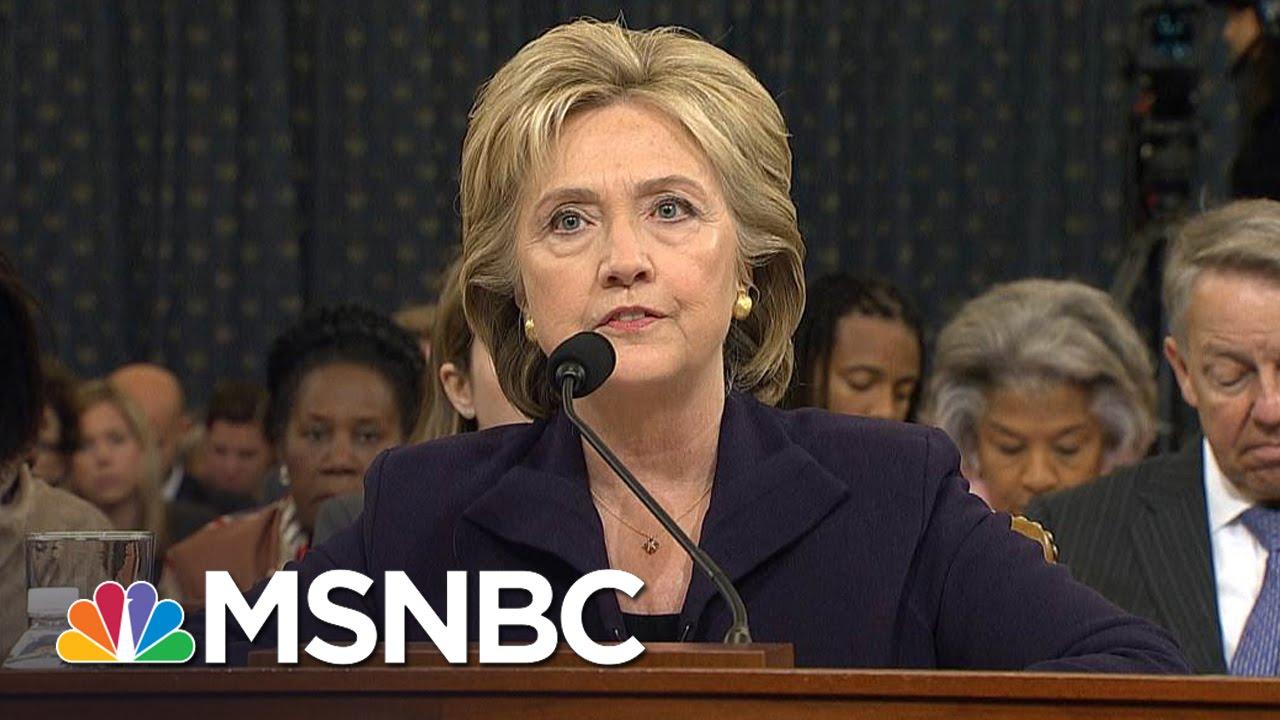 House Democrats Release Benghazi Report | MSNBC thumbnail