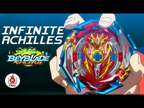 Волчок BEYBLADE Burst Superking «Infinite Achilles Dimension» (Инфинити Ахиллес) B-173 от Flame