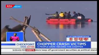 Chopper crash victims: Recovery process continues on Monday
