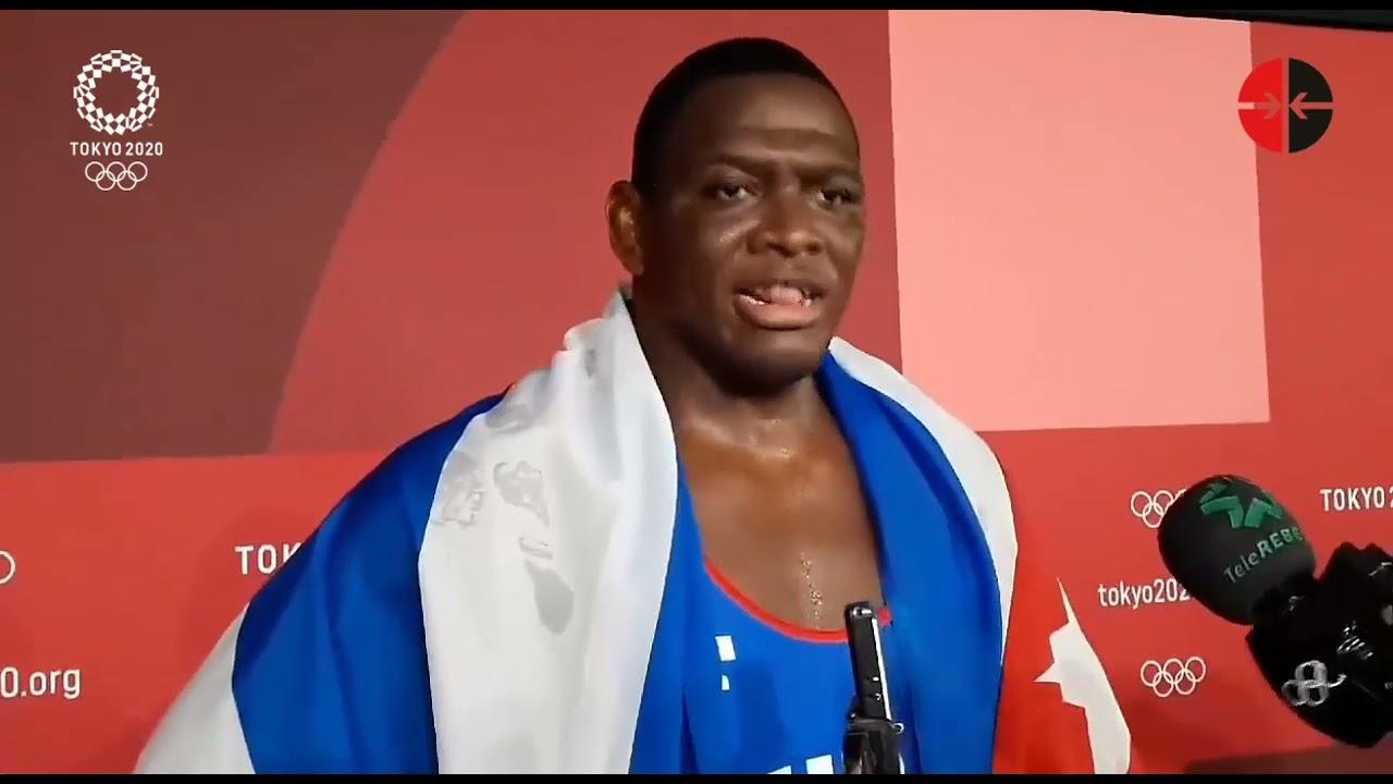 Mijaín López Núñez Tokio 02.08.2021 | Bildquelle: https://www.youtube.com/watch?v=u3yDj7a3Kr8 © YouTube/CiberCuba | Bilder sind in der Regel urheberrechtlich geschützt
