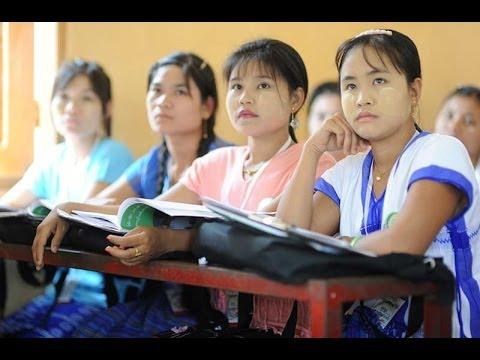 Karen minority representatives participate in enumerator training for nation-wide census