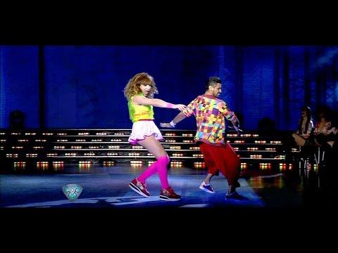 El reggaetón de Lizy Tagliani #Showmatch #Bailando2015