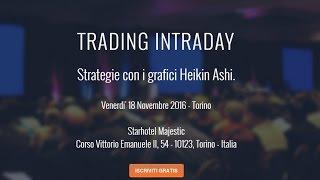Trading Intraday a Torino - Prenota il tuo posto!!!