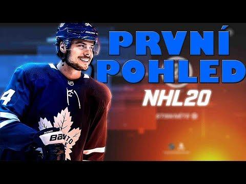 NHL 20 JE TADY! | PRVNÍ POHLED | CZ/SK