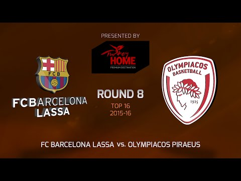 Highlights: Top 16, Round 8, FC Barcelona Lassa 82-66 Olympiacos Piraeus