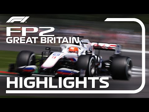 F1第10戦イギリスGP(シルバーストン)のFP2ハイライト動画